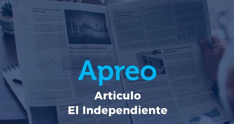 Comunicado de la Apreo en referencia al artículo publicado en El Independiente