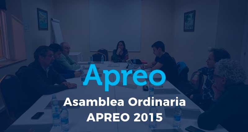 Asamblea Ordinaria APREO 2015