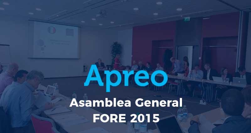Asamblea General FORE 2015