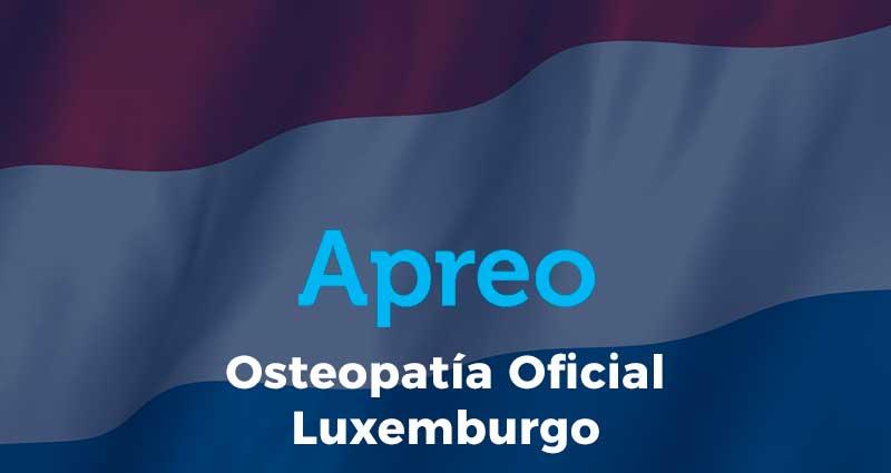 La Osteopatía ya es oficial en Luxemburgo