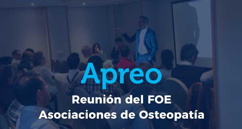 Reunión del FOE con asociaciones y escuelas de Osteopatía