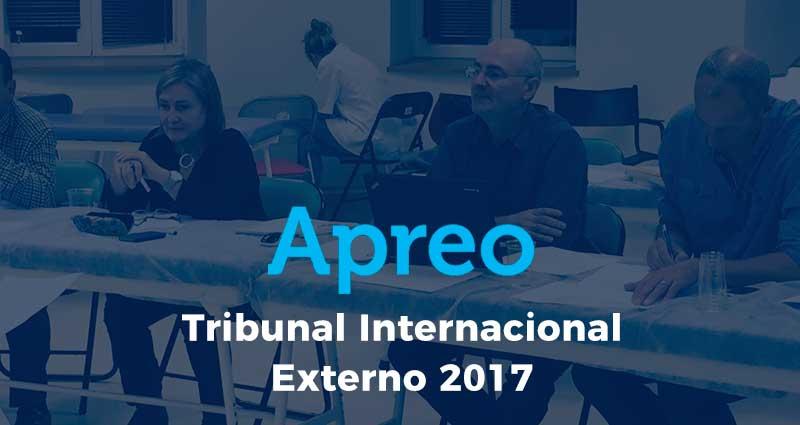 Convocatoria Tribunal Internacional Externo 2017