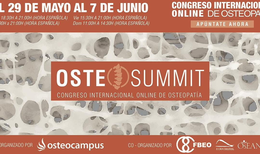 CONGRESO INTERNACIONAL ONLINE DE OSTEOPATÍA